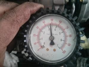 oil pressure test
