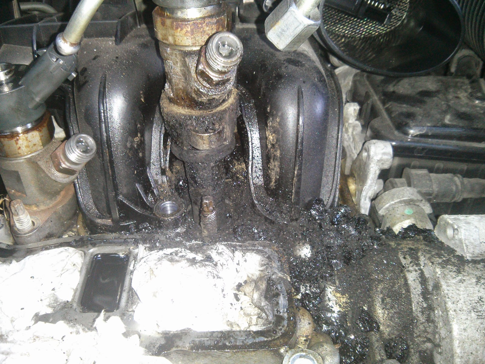 Workshop Repair 16 Tdci Turbo Failure Heres The Real Cause 2014 Ford Focus Crankshaft Carbon Build Up