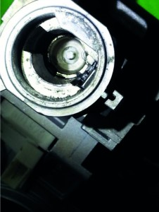 ignition switch housing