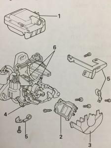 Figure 1 - Honda Ignition Diagram.