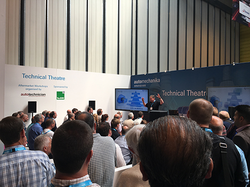 Autotechnician's team of experts drew the biggest crowd to aftermarket seminars