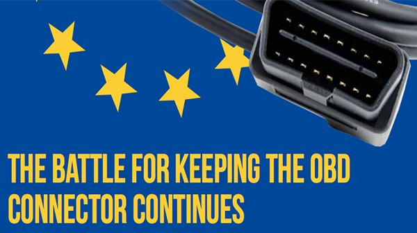 The battle for keeping the OBD connector continues