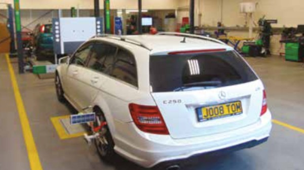Autotechnician visits new Euro Academy training workshop in Avonmouth