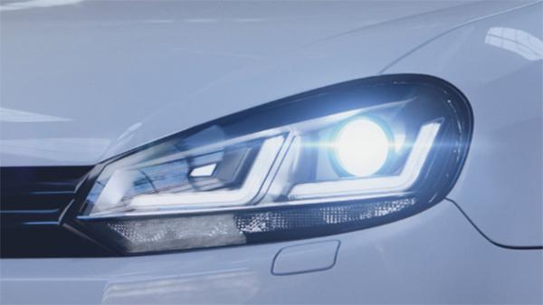 New retrofit upgrade headlamps for VW Golf VI