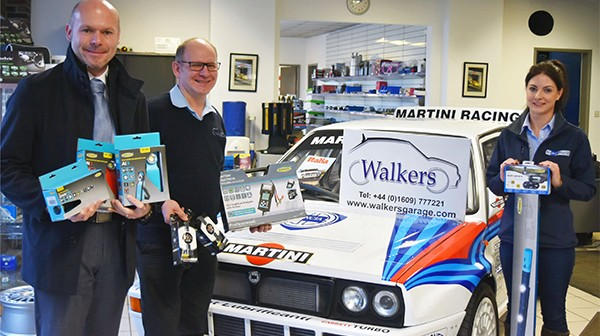 Walkers Garage starts the year in style with £1,000 prize