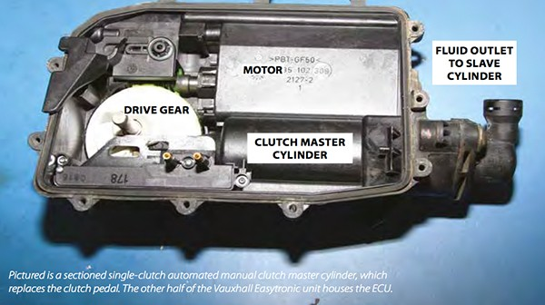 Automated manual transmission clutches – by Rob Marshall