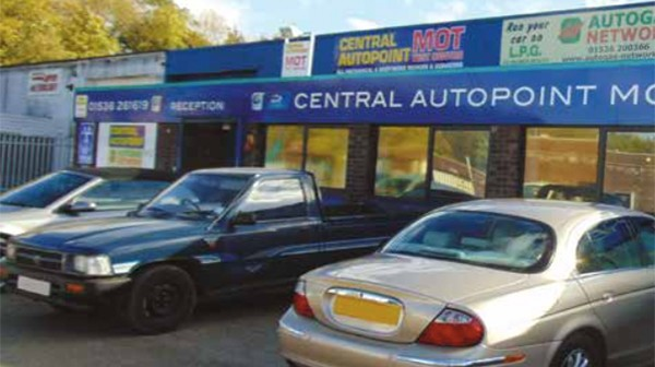 Workshop visit – Central Auto Point in Corby – by Nicola St Clair