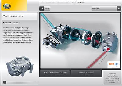 Notes: Knowhow-Tool, Know-how Tool, Know How Tool, Know-How-Tool, Knowhow Tool, KHT, Kate, Klimaanlage, Kompressor, Hochvoltkompressor, Hybrid