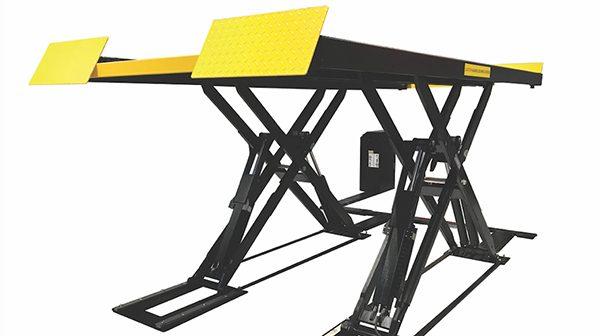 New Sun one-person testing car scissor lift
