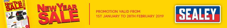 Sealey leaderboard Jan Feb 2018