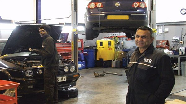 Workshop visit: Welwyn Auto Centre