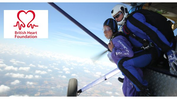 NGK supports great-grandfather's charity skydive
