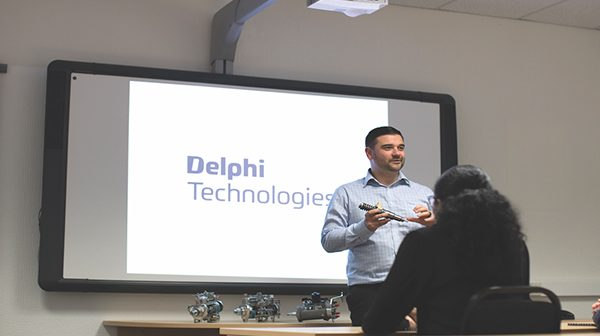 All welcome in Warwick – Training with Delphi Technologies