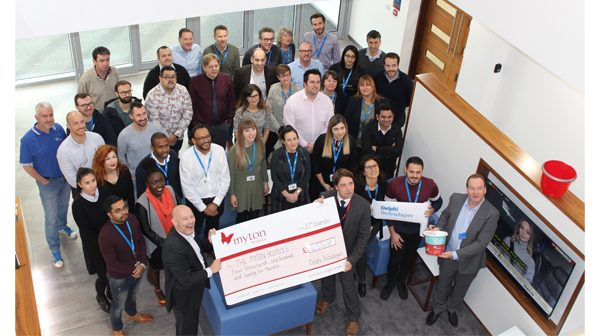 Delphi Technologies supports vital work at Myton Hospice