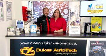 Dukes AutoTech overall winner of the Garage Star Awards