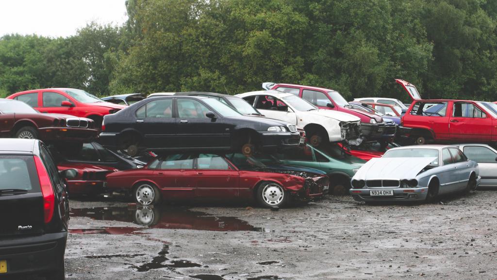 Vehicle Scrap Yard
