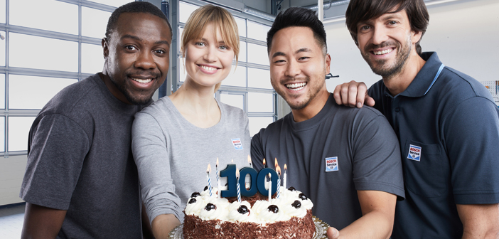 100 Years of Bosch Car Service