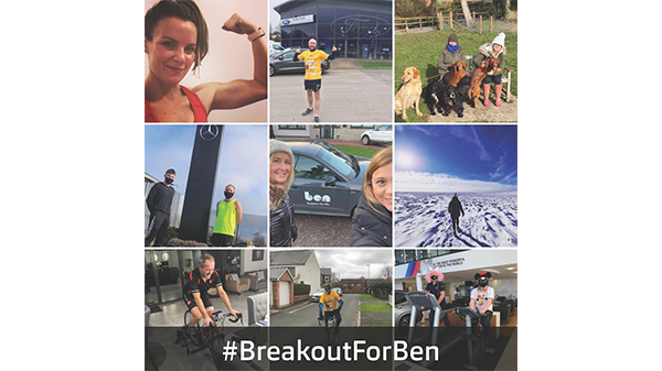 Breakout for Ben raises £159k