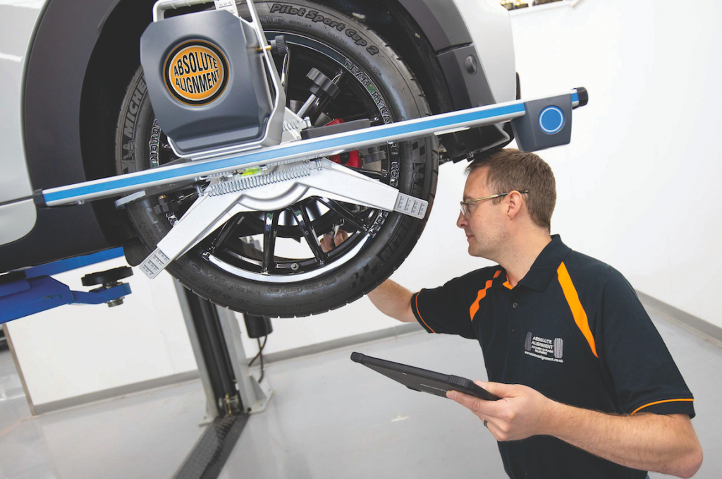 Absolute Wheel Alignment Equipment
