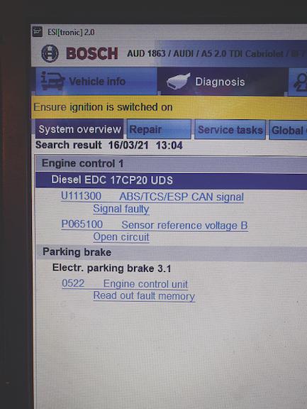 Diesel EDC 17CP20