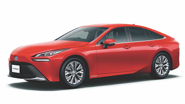 Toyota chooses KYB for hydrogen Mirai