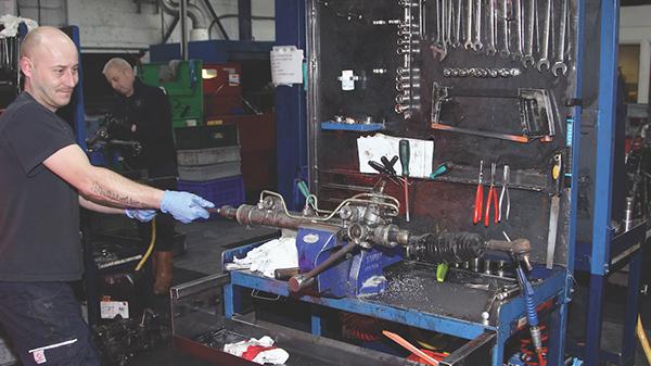 Remanufacturing automotive parts