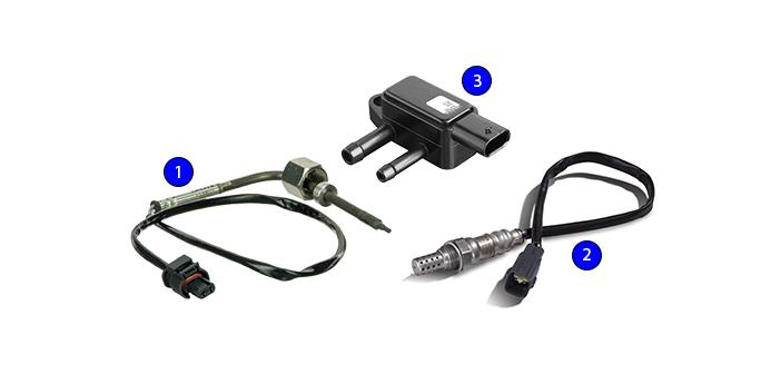 Delphi Technologies' range of exhaust sensors